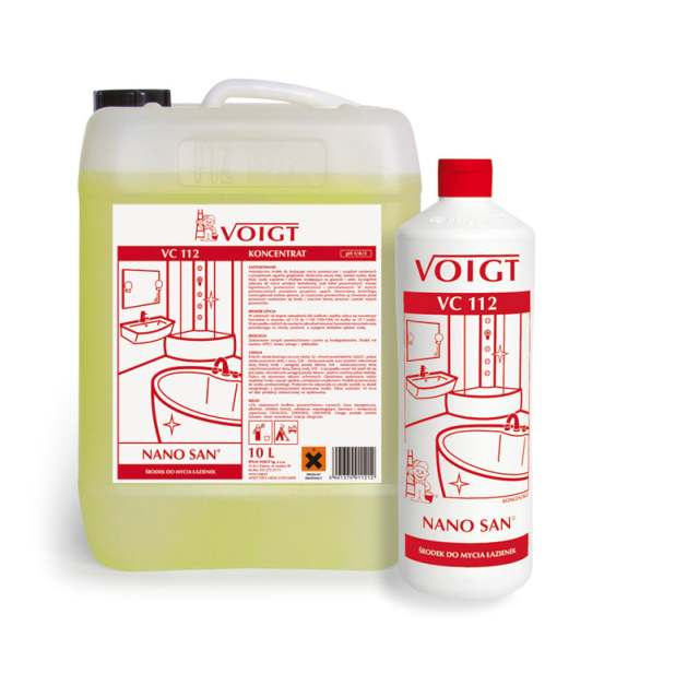 Voigt Vc112 Nano San Do Mycia łazienki 1l Koncentrat